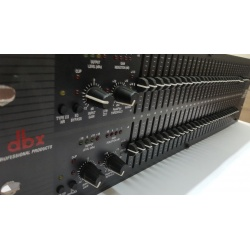 Graphic Equalizer/Limiter with Type III™ DBX